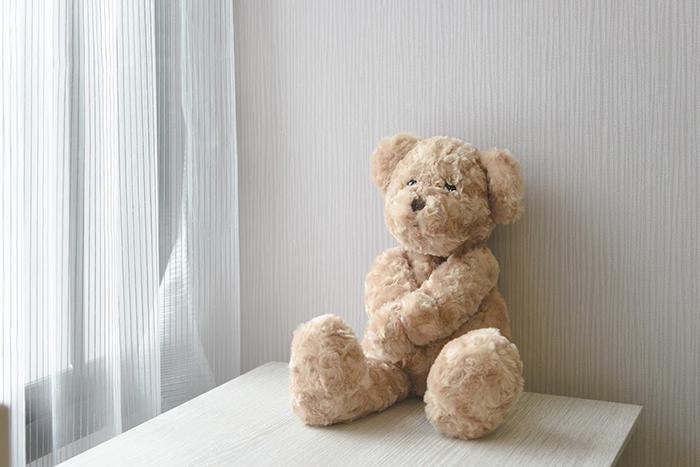 熊のぬいぐるみ