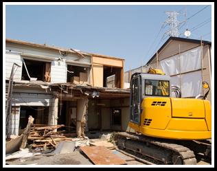 建物を解体
